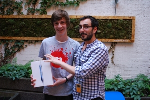 James, run with your iPad before Javier from CircleMe does! ; - )