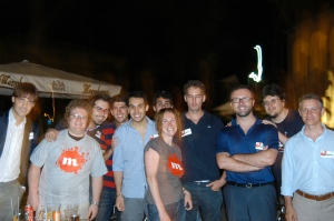 CircleMe users at the Rome meet up