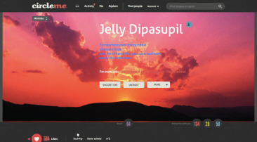 Jelly's profile page on CircleMe