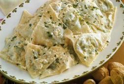 Italian Pasta Recipe - Ligurian Pansotti