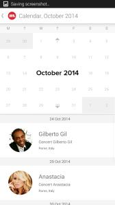 CircleMe Calendar View