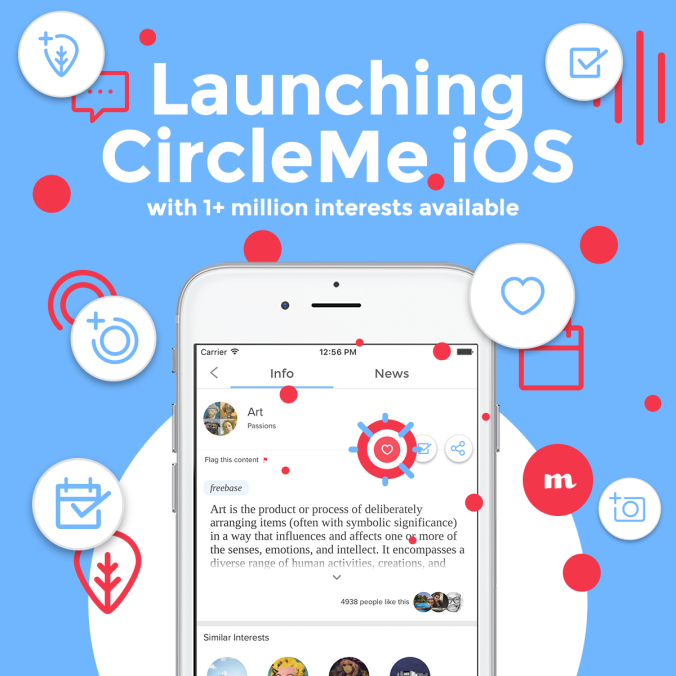 Launching CircleMe iOS